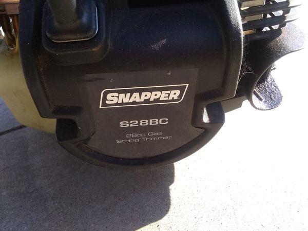 Snapper weed wacker