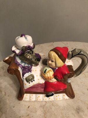 Little red riding hood tea kettle for Sale in Alton, IL