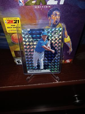 2020 Panini Mosaic Baseball! Hot Adbert Alzolay Rookie 'Silver Prizm' Card! for Sale in La Puente, CA
