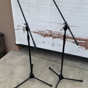 Mic Stands $30 Cash Firm For Both for Sale in Miami, FL