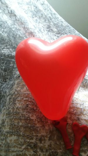 Red Heart shaped Balloons to say Thank You for Sale in Middletown, CT
