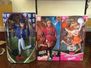 Chicago sports Barbie Dolls for Sale in Sunrise, FL