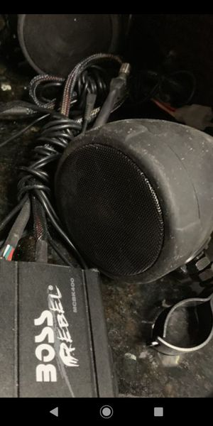 Boss Motorcycle Speakers for Sale in Richardson, TX