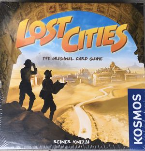 Lost Cities board game for Sale in Shoreline, WA