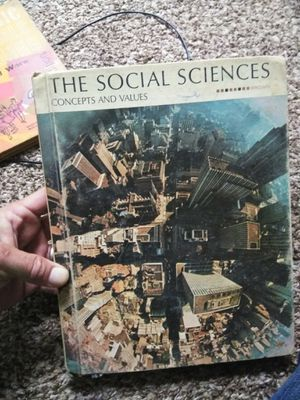 The social sciences concepts and values 1970 edition for Sale in Newnan, GA