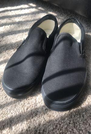 Vans Slip-On (black) 9.5 Men = 11 Women for Sale in Houston, TX