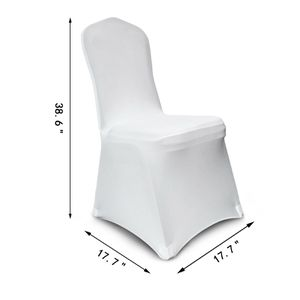 Stretch Chair Covers White for Wedding Party (2.50 each ) for Sale in Norcross, GA