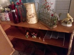 Wooden bookcase, can be used vertical or horizontal for Sale in Woodstock, GA
