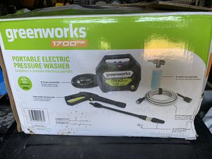 Greenworks Portable electric pressure washer for Sale in Edmond, OK
