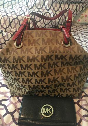Michael Kors purse and wallet for Sale in South Jordan, UT