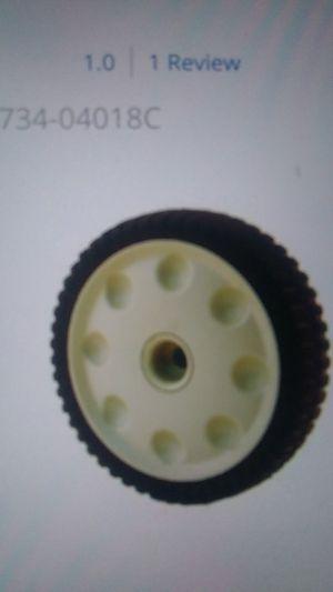 Lawn mower drive wheels, Craftsman front wheel drive wheels off a Craftsman mower. for Sale in Brown City, MI