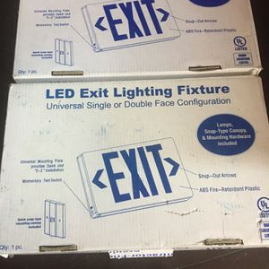 2 Exit Signs for Sale in Modesto, CA