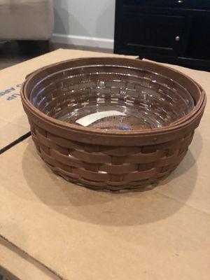 "Longaberger 7"" Round Keeping Basket for Sale in Chandler, AZ"