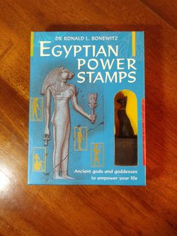 Egyptian Power Stamps By Dr. Ronald l. Bonewitz for Sale in Apple Valley,  CA