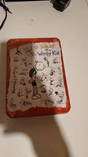 Diary of a Wimpy Kid UNO Set for Sale in Lincoln, NE