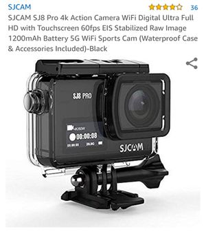 SJCAM SJ8 Pro 4K for Sale in Garden Grove, CA
