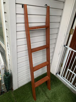 Bunk bed ladder 100% solid wood for Sale in Seattle, WA