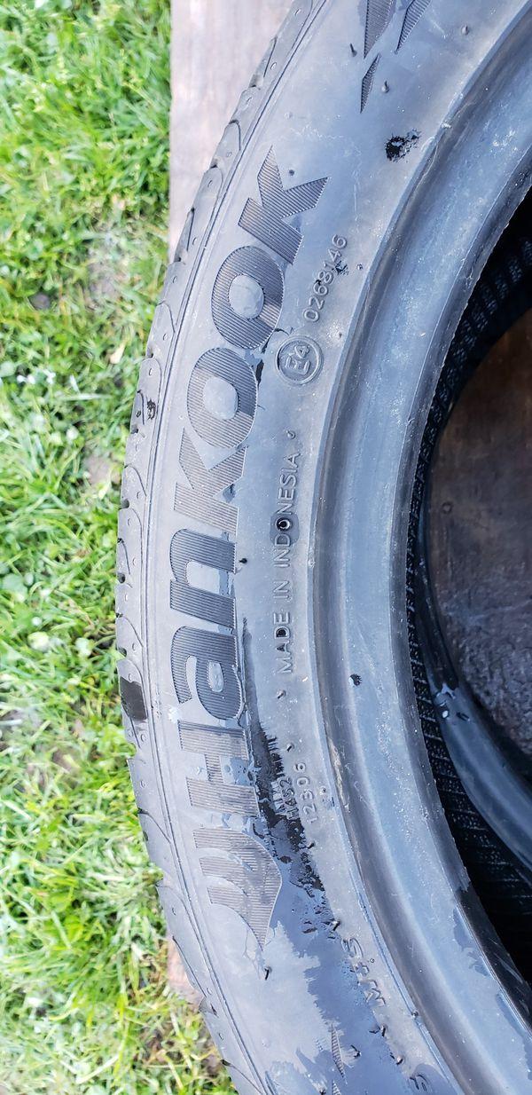 Hankook tires 225/45/17