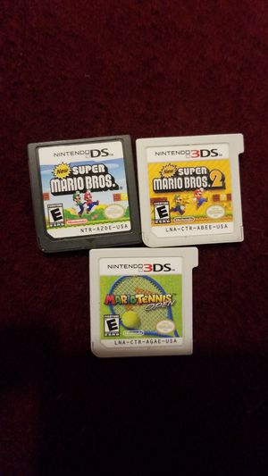 Nintendo DS. 3D Games for Sale in CO, US