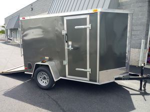 5x8 8.5x24 7x16 8.5x32 ENCLOSED VNOSE TRAILERS--CAR TRUCK MOTORCYCLE ATV UTV BUSINESS MOVING TRAVELING STORAGE LAWN MOWER for Sale in Freehold, NJ