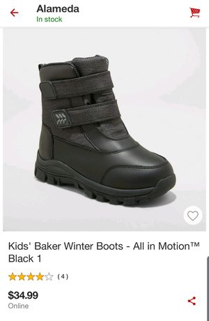 Kids snow boots size1 $20 for Sale in Oakland, CA