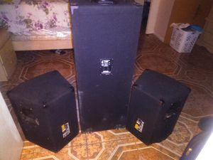 EV and rockville elite speakers for Sale in Lauderdale Lakes, FL