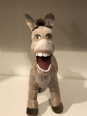 "Disney Shrek Donkey plush plushie doll toy sale! 11"" from nose to end of tail! for Sale in Phoenix, AZ"