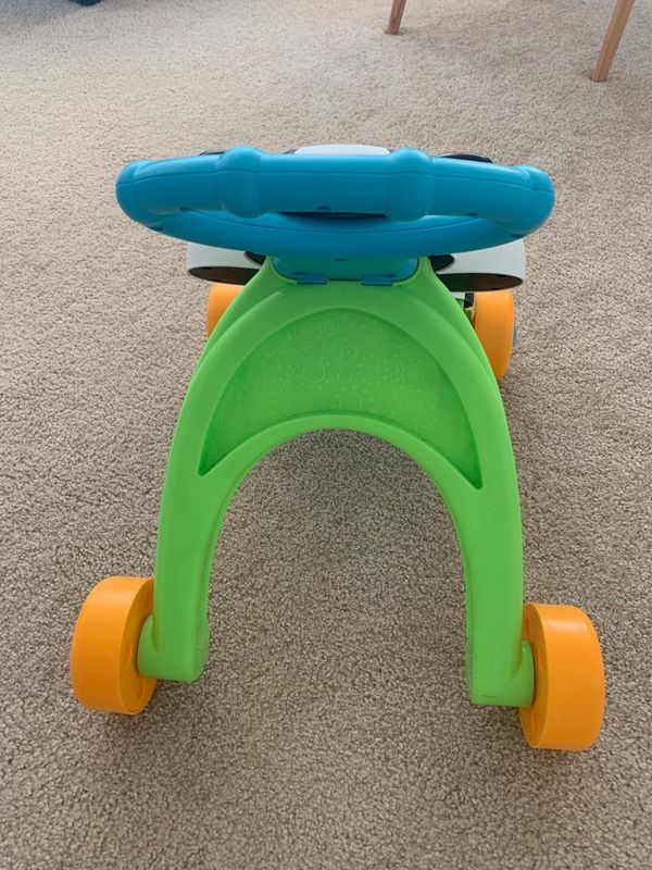 Baby toy and chair