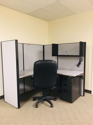 Office Cubicles, bookcase and office furniture for Sale in Fairfax, VA