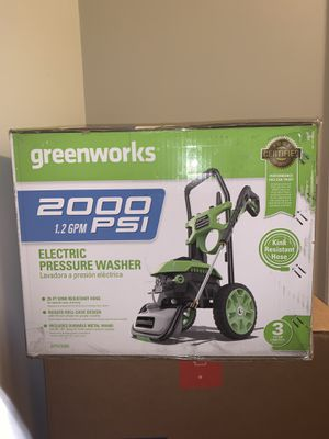 Greenworks Pressure Washer for Sale in Winchester, VA