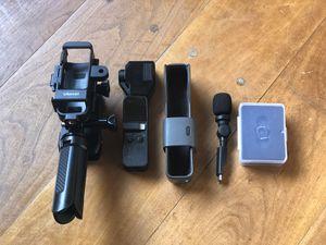 DJI OSMO POCKET COMPLETE 4K READY TO USE VLOGGING CAMERA for Sale in Queens, NY