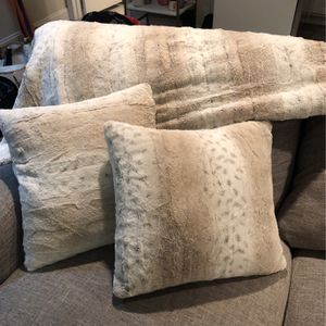 Accents Pillows And Throw for Sale in Arlington, VA