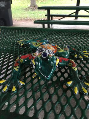 Wall frog decoration! Hand painted! for Sale in Knoxville, TN