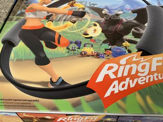 New Ring Fit Adventure for Nintendo Switch for Sale in Lynnwood,  WA