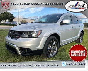 2014 Dodge Journey Crossroad Plus Sport Utility 4D 141K !!1500 DOWN PAYMENT!! !!CHECK IT OUT LIKE NEW!! for Sale in Orlando, FL