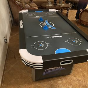 Air Hockey Table Full size With Led Lights Glow In The Dark for Sale in El Cajon, CA