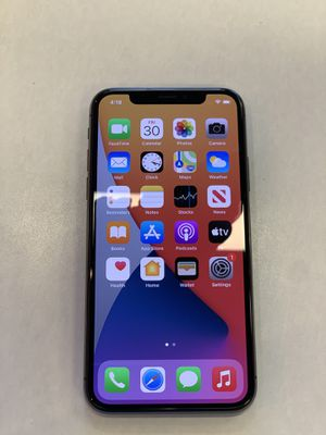 iPhone X (FULLY UNLOCKED) for Sale in Las Vegas, NV