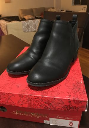 Size 8 Black Booties for Sale in Bethesda, MD
