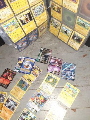 Pokemon card set in binder & protective sleaves for Sale in Shinnston, WV