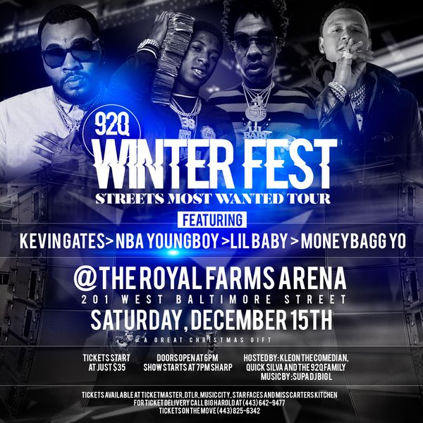 92Q Winter Fest Streets Most Wanted Tour