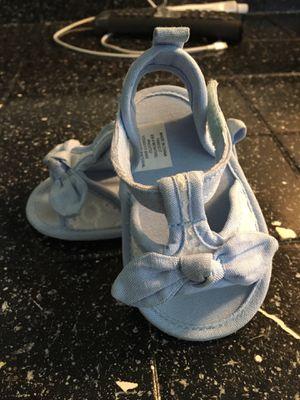 Babygirl sandals 6/9 months for Sale in El Cajon, CA