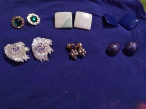 Lot of vintage clip on for Sale in San Angelo, TX