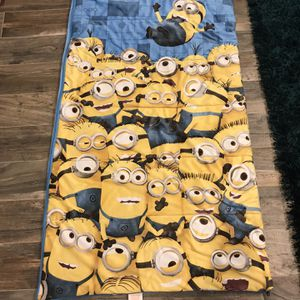 Toddler Size Minion Sleeping Bag for Sale in Fort Lauderdale, FL
