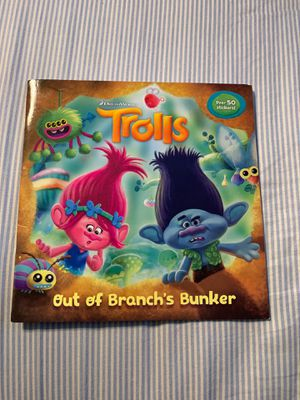 Trolls book with all the stickers (like new) for Sale in Escondido, CA