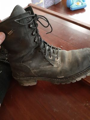 Red wing boots size 10 1/2 for Sale in Prospect Park, PA