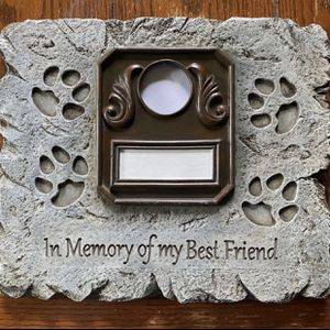 Pet photo frame for sale $20.00 for Sale in St. Petersburg, FL