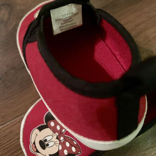 Baby Girl Shoes 6-12 Months Minnie Mouse