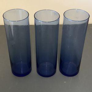 """3 - 10.5"""" T Cobalt Blue Cylinder Vases for Sale in Katy, TX"""