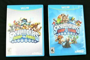 Skylanders Swap Force & Trap Team (Nintendo Wii U) Complete Bundle for Sale in Weston, FL