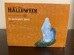 Lit Graveyard Ghost-Dept 56 Halloween for Sale in Midland, TX